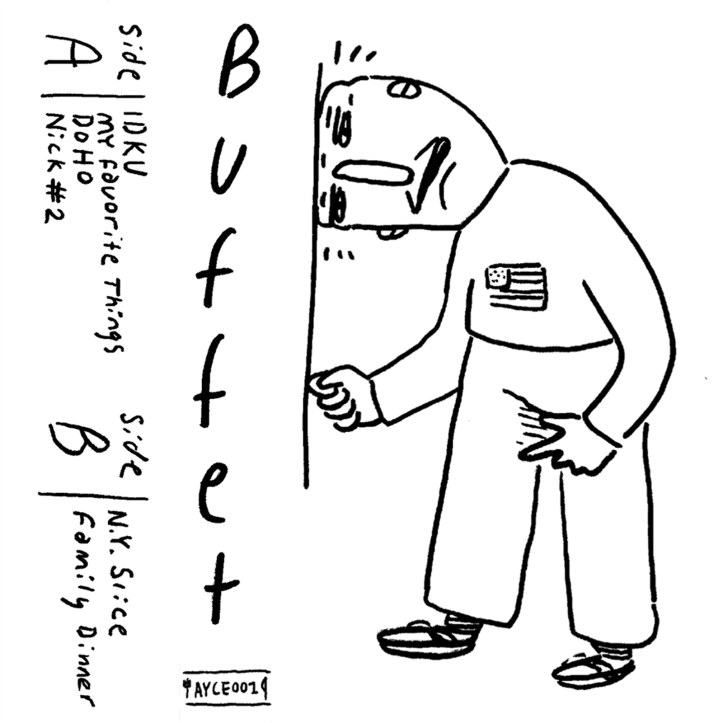 BUFFET - EP - cover